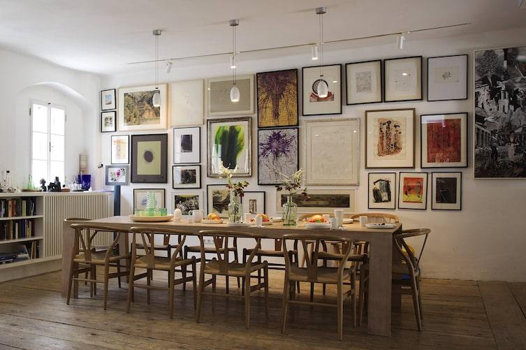 Bilder aufhängen, Bilderwand, Wanddeko