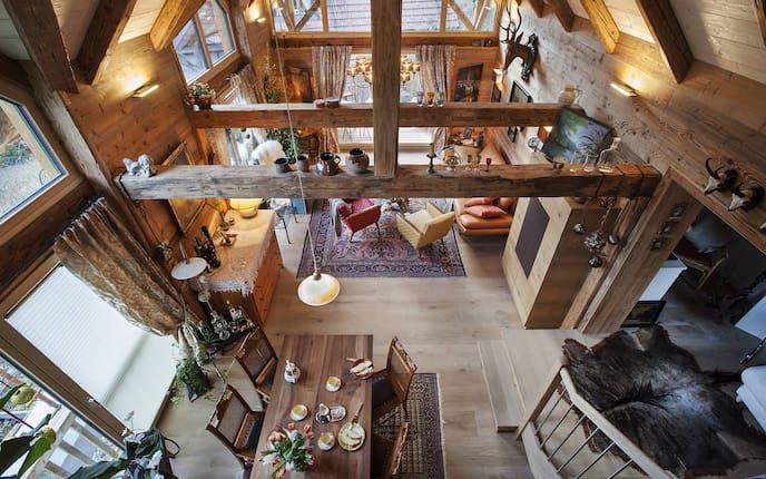 Hausbesuch, Wohnen, Heustadl, Wohnzimmer