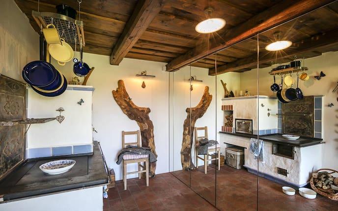Hausbesuch, Kellerstöckl, Küche