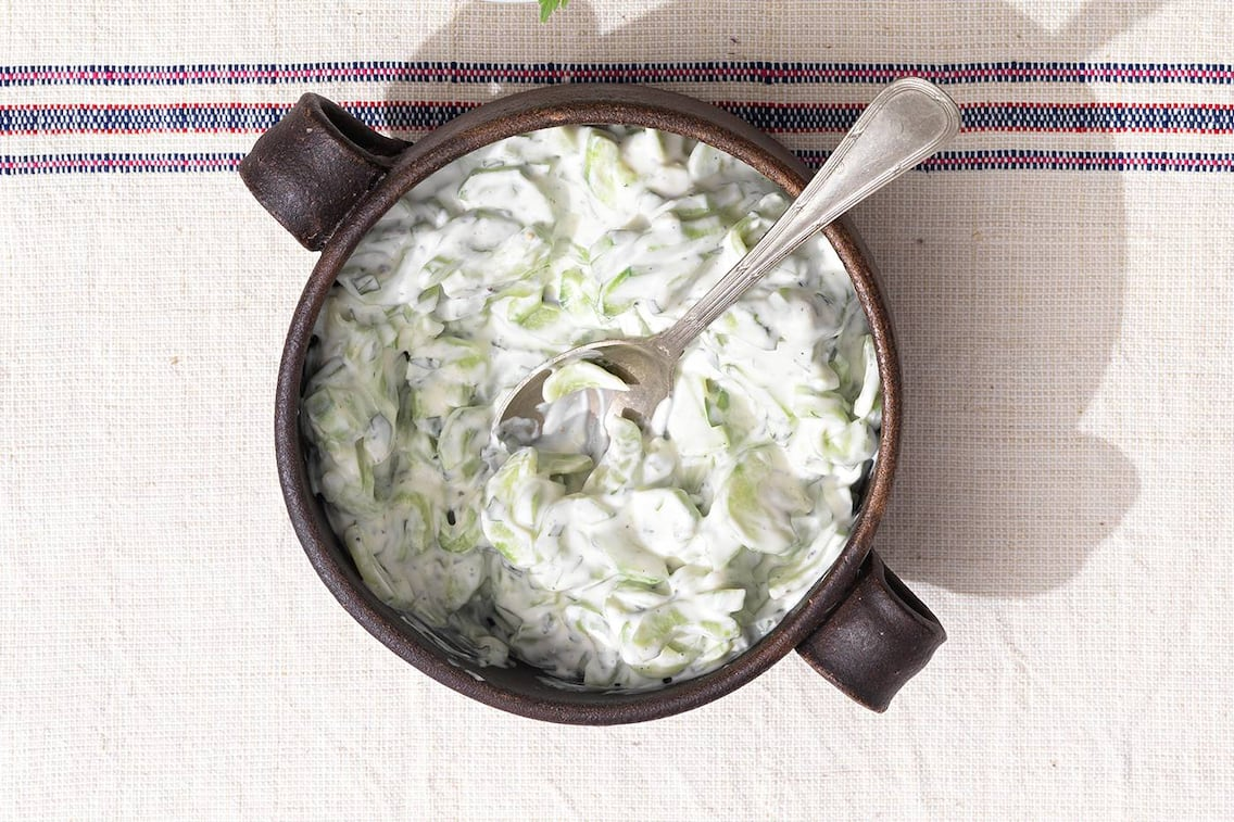 Gurkensalat, Salat, Gurke, Rahmgurkensalat