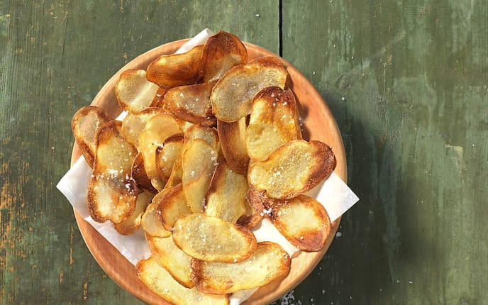 Kartoffel, Erdäpfel, Rohscheiben, Beilage, Servus Rezept
