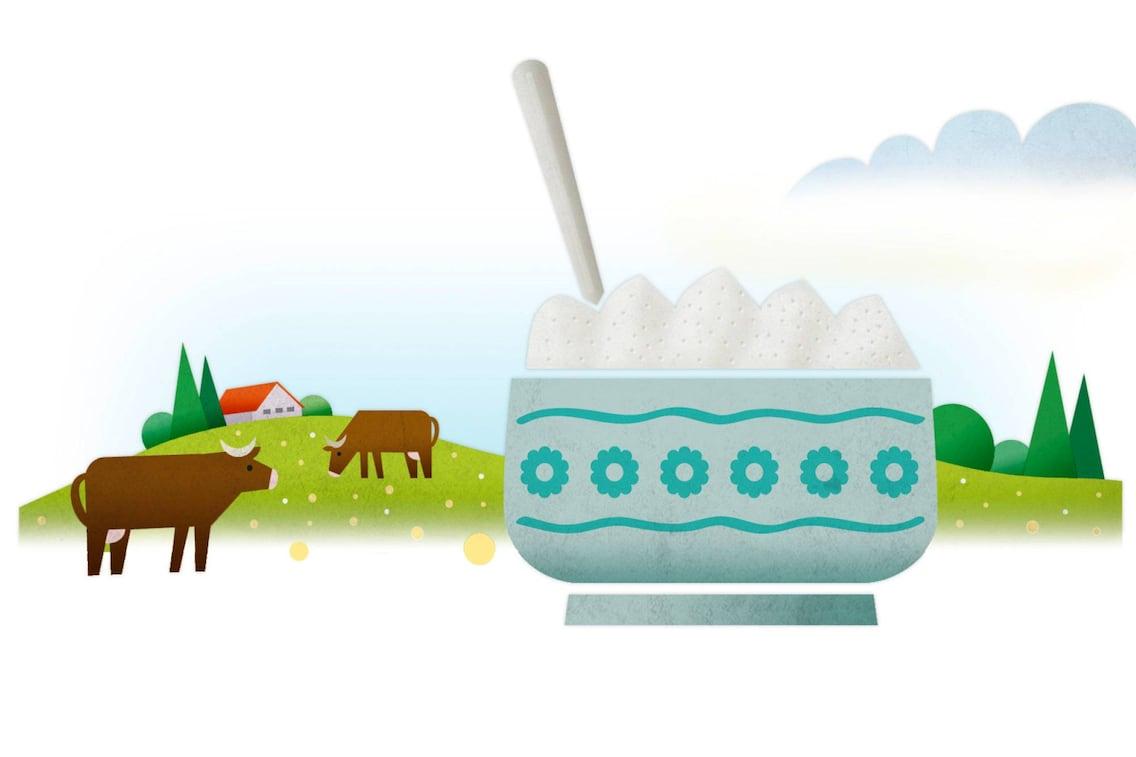 Topfen selber machen, Topfen, Milch, Kuh, Kochschule
