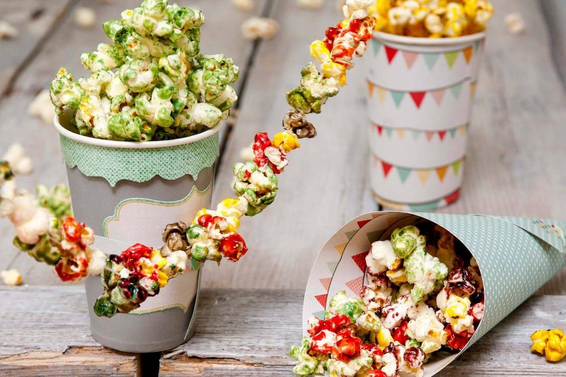 Süßes Popcorn, selber machen, Servus Rezept