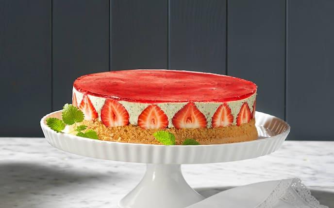 Erdbeeren, Torte, Tortenfuss, Nachspeise, Servus Rezept
