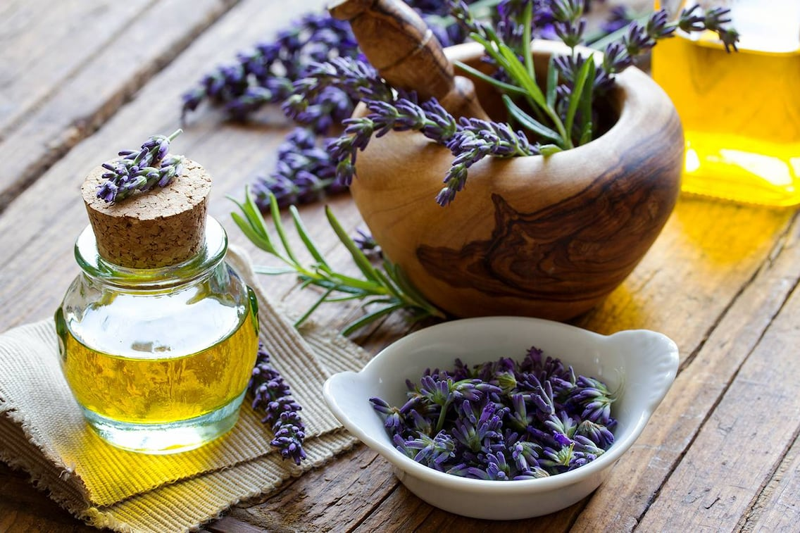 Lavendelöl, Rezept