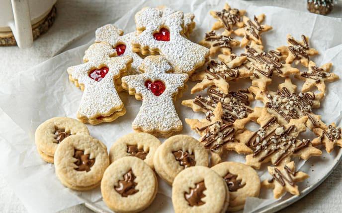 Mürbteigkekse, Weihnachtskekse, Weihnachtsplätzchen, Kekse, Plätzchen