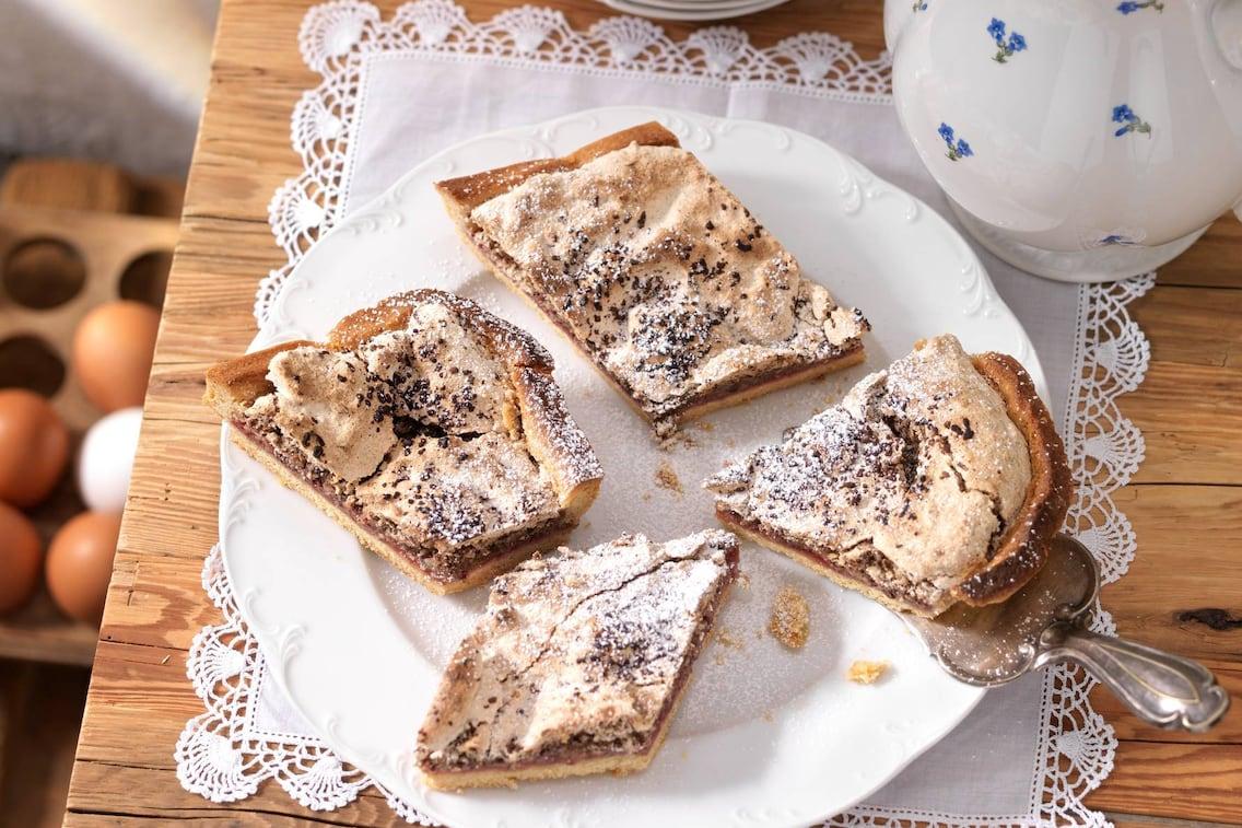 Ehenbichler Festtagstorte, Torte, Kuchen, Mürbteig, Marmelade, Osterjause, Kuchenrezept