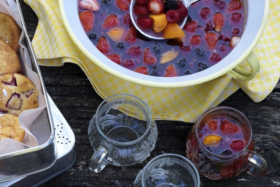 Sommerliche Fruchtbowle (Bild: Eisenhut & Mayer)