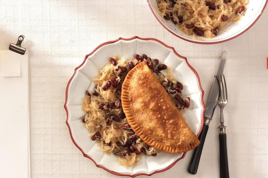 Steirische Fleischkrapfen, Bohnenkraut, Hauptspeise, Servus Rezept