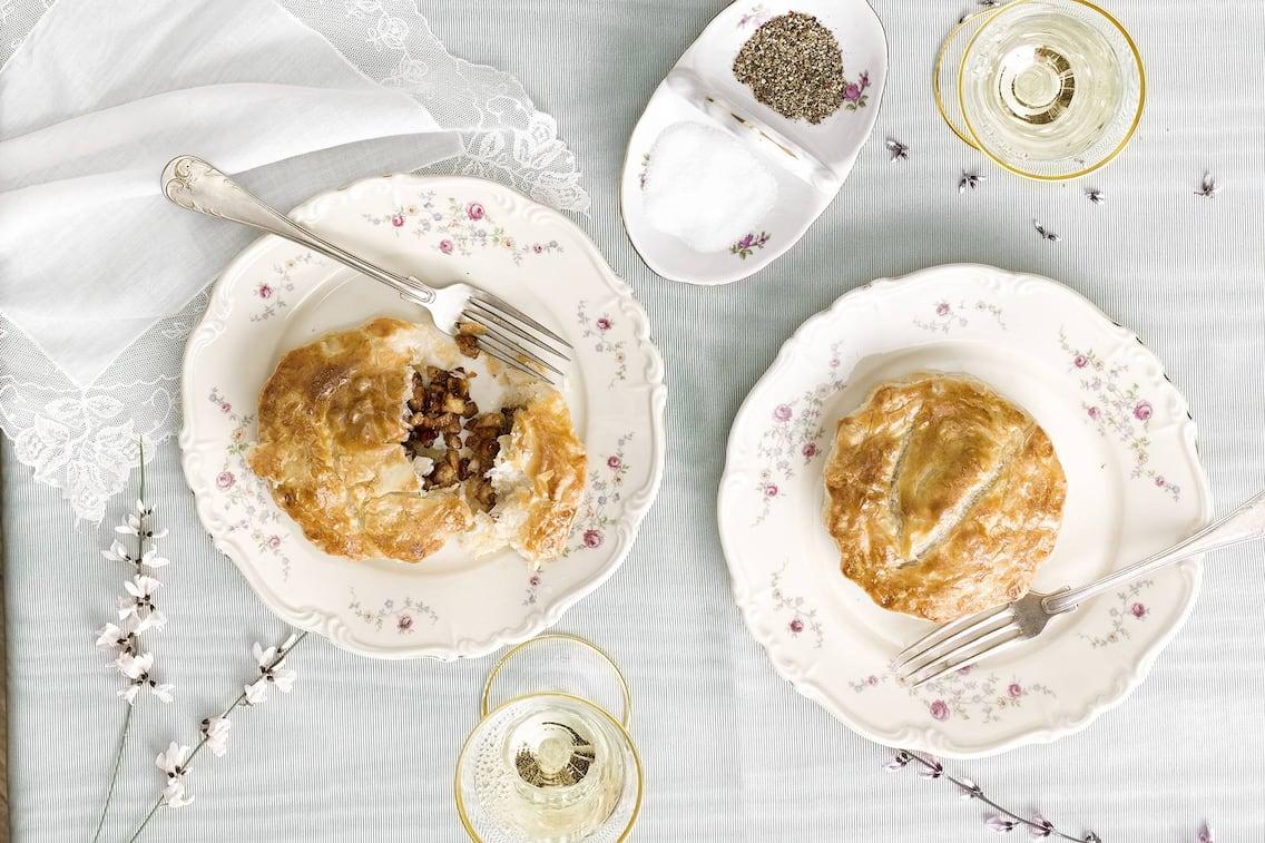 Genueser Pastete, Kalbfleisch, Rezept