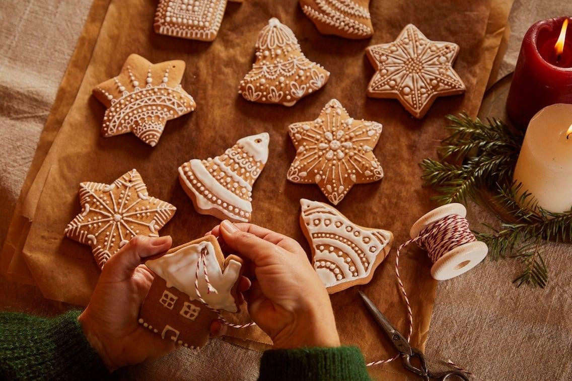 Lebkuchen, Figuren, Zuckerguss, Weihnachtsplätzchen, Weihnachtskekse, Kekse, Servus Rezept
