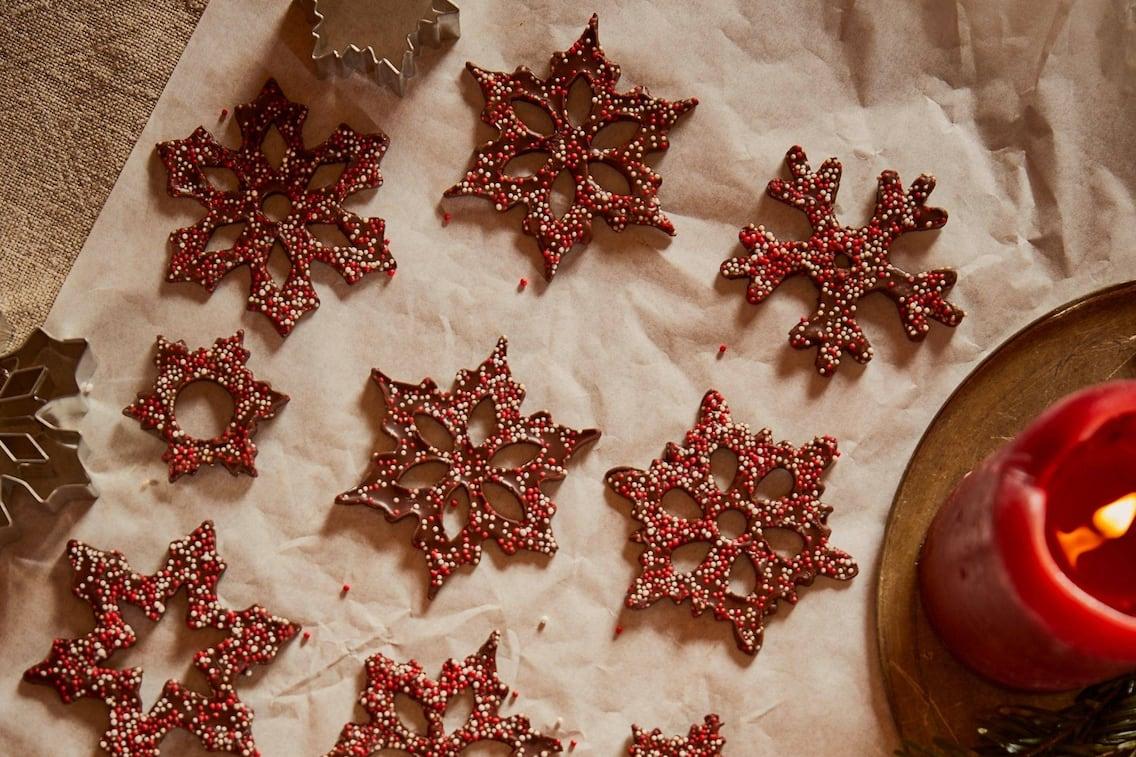 Schokosterne, Zuckerkugerl, Kekse, Plätzchen, Weihnachten, Servus Rezept