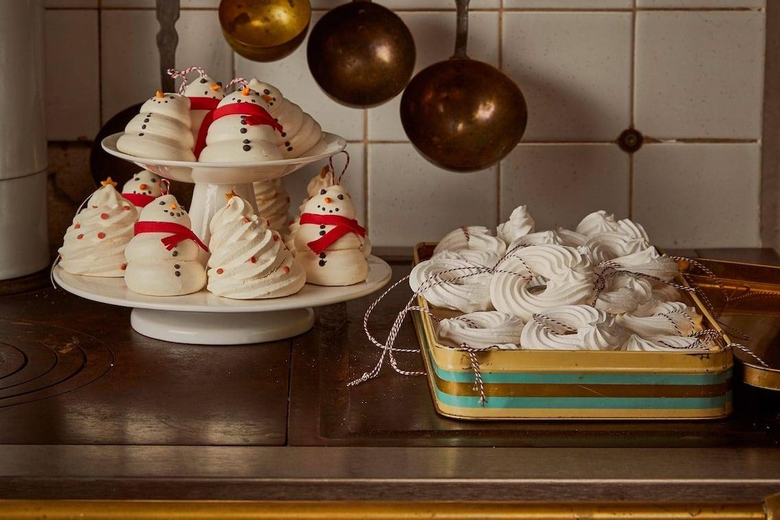Windringe, Schneemänner aus Windgebäck, Kekse, Weihnachtsgebäck, Servus Rezept