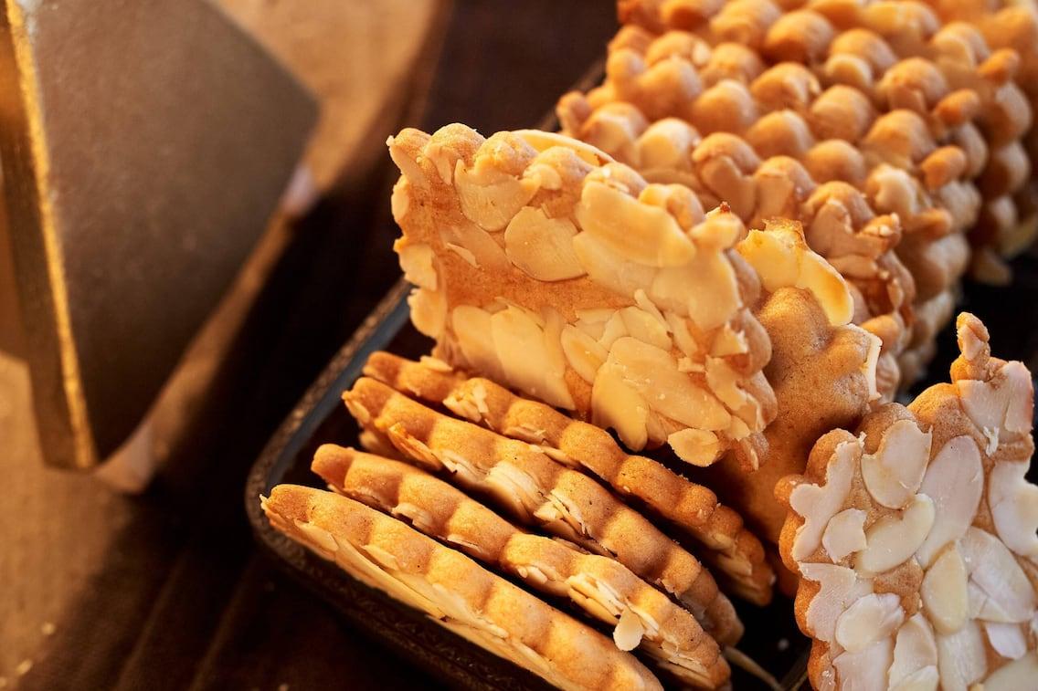 Mandel-Lebkuchen, Gebäck, Kekse