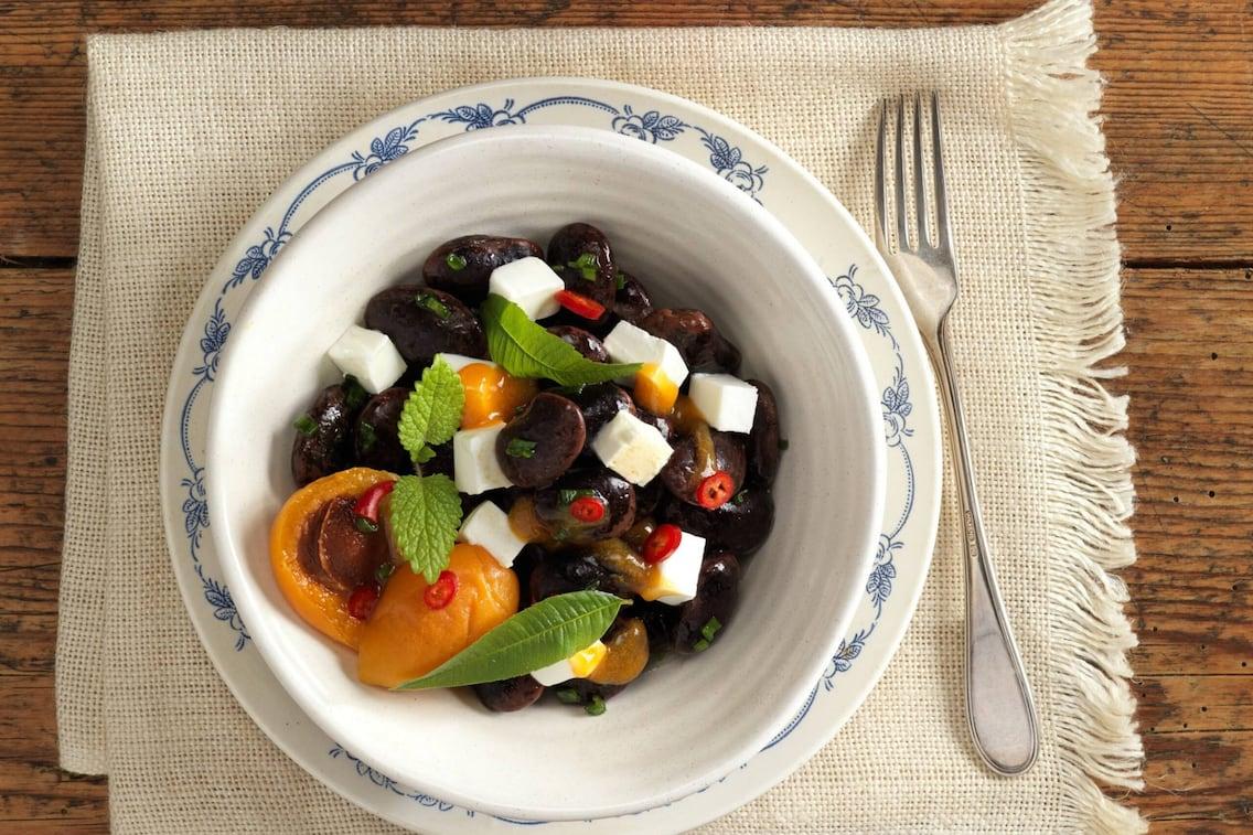 Käferbohnen, Käferbohnensalat, Käferbohnensalat-Rezept, Servus-Rezept