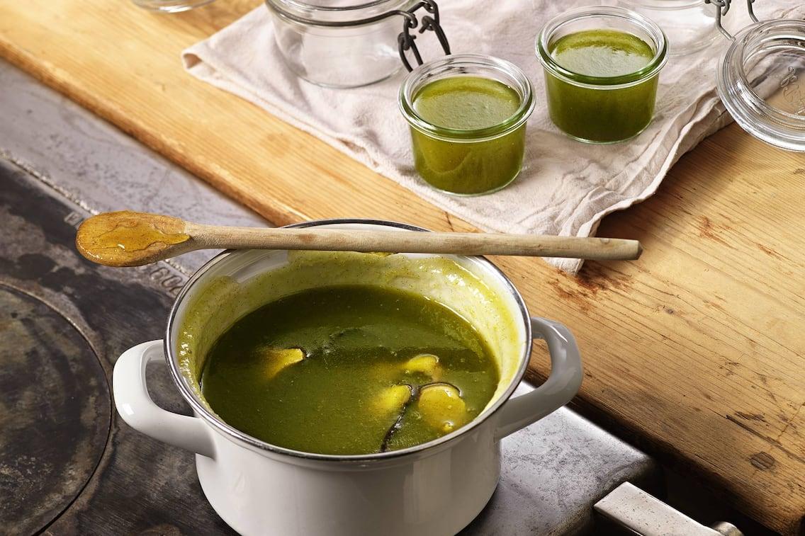 Marmelade, grüne Paradeiser, Tomaten, Gelee, einkochen, Servus Rezept