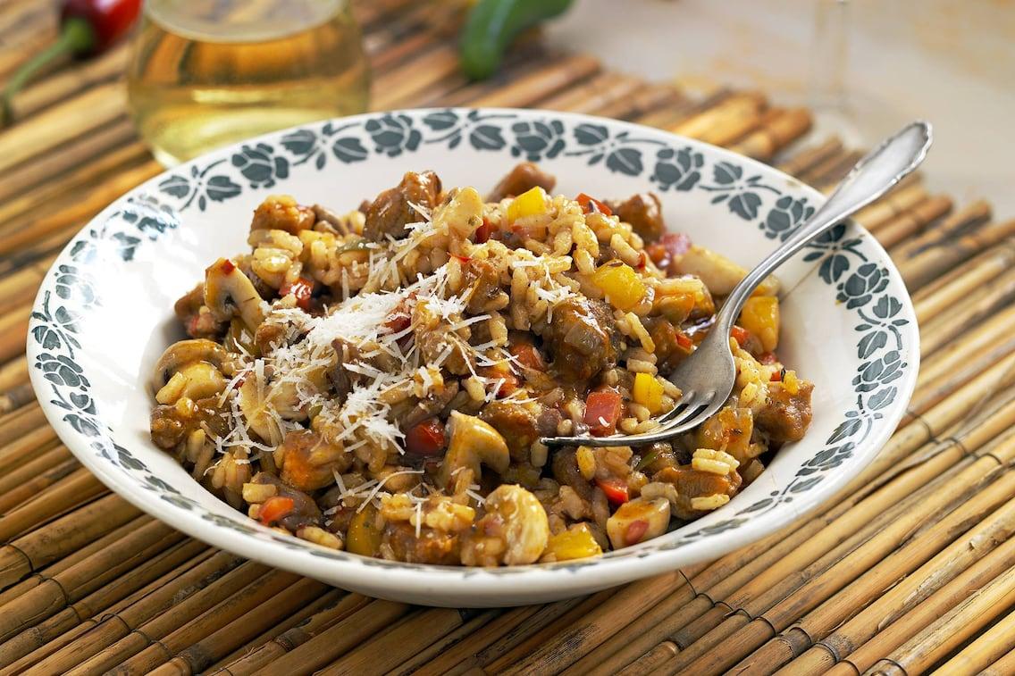 Pannonisches Reisfleisch (Bild: Eisenhut & Mayer)
