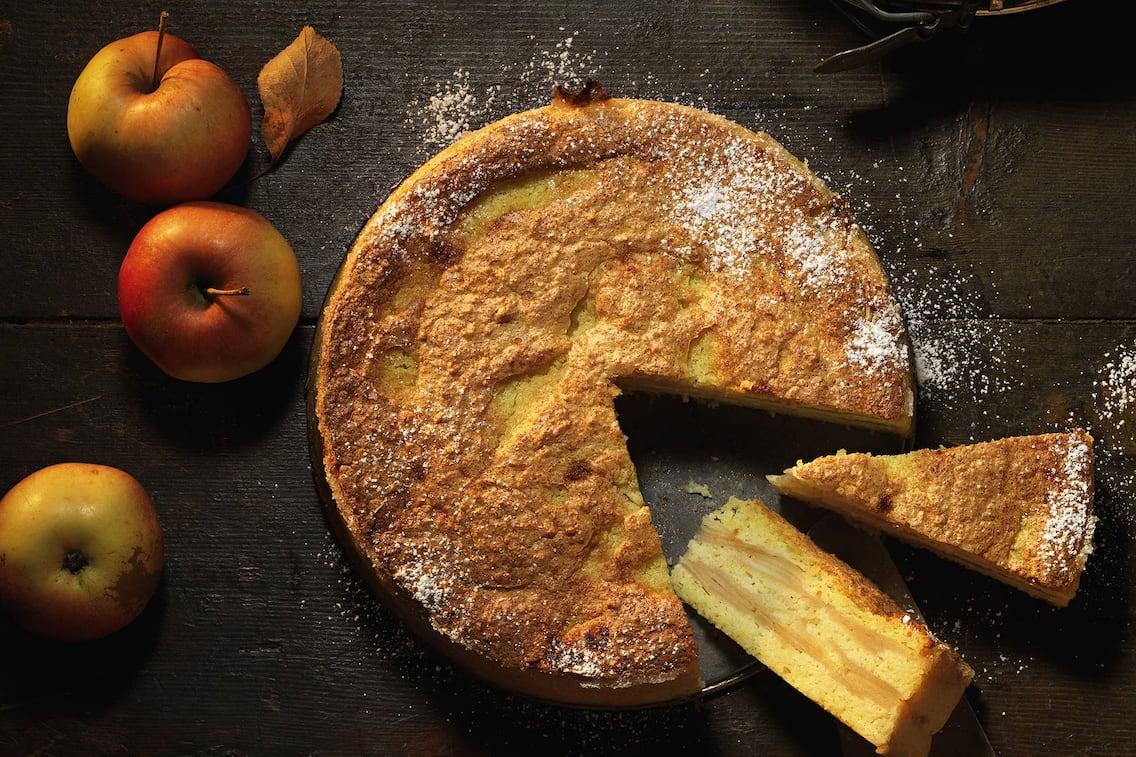 Polenta-Apfelkuchen (Bild: Eisenhut & Mayer)