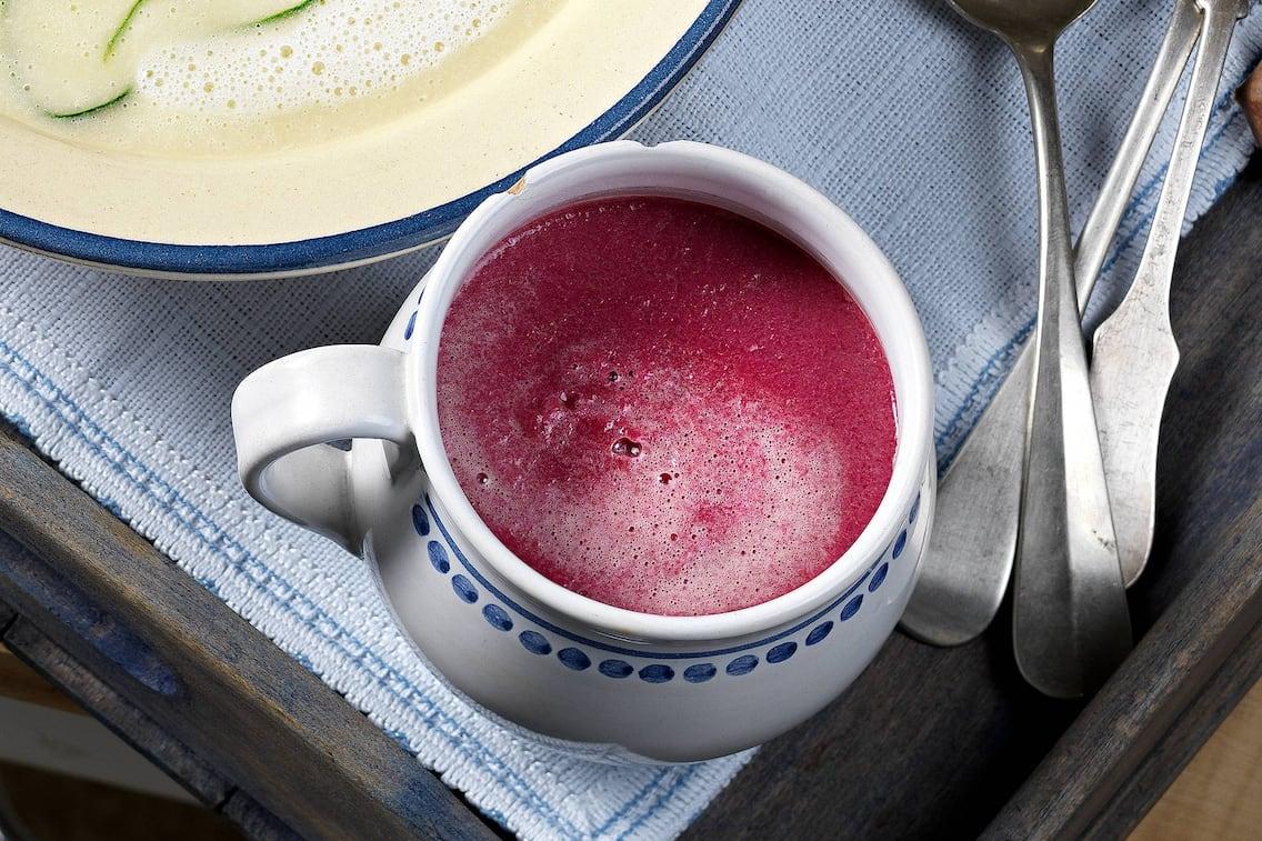 Rote Rüben, Suppe, Cremesuppe, Vorspeise, vegetarisch, Servus Rezept