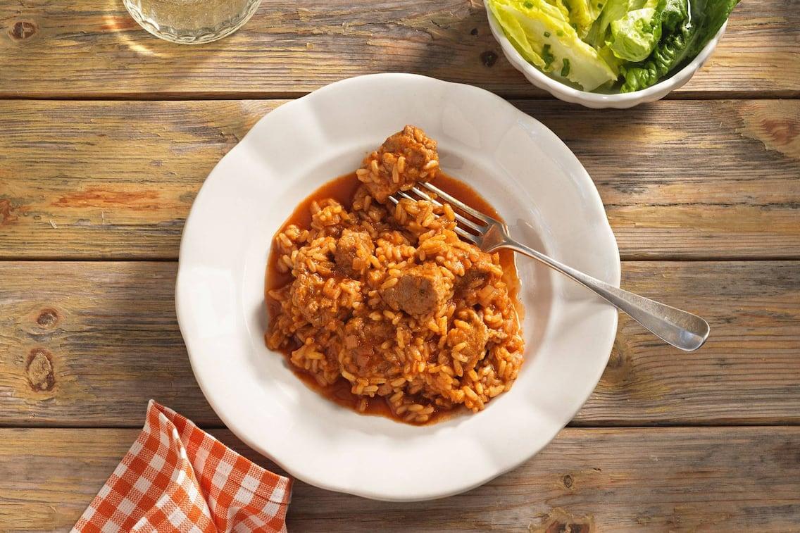 Reisfleisch, Reisfleisch-Rezept, Reisfleisch selber machen, Reisfleisch Schwein, Servus-Rezept