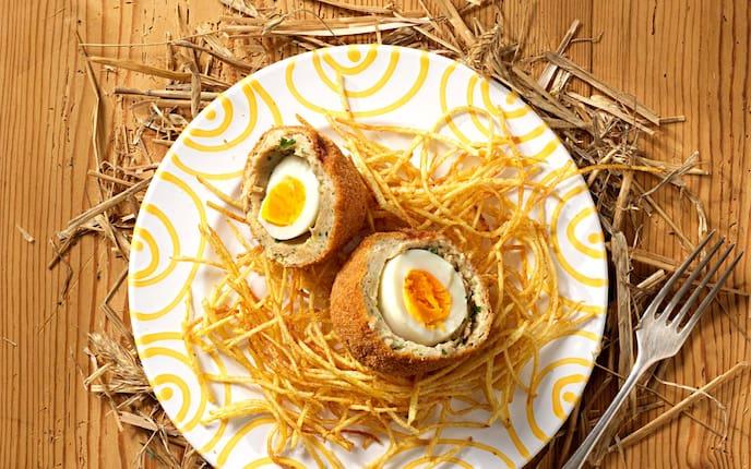 Rezept, Schottisches Ei, Gmundner Keramik