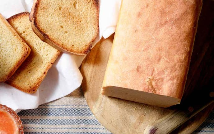 Rezept, Toastbrot, Brot backen,  Toast Wecken