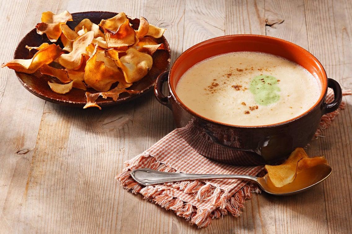 Rezept Topinambursuppe (Bild: Eisenhut & Mayer)