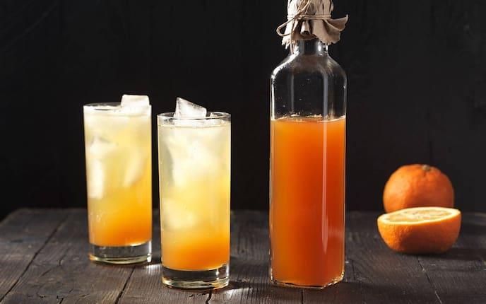 Pomeranzensirup, Pomeranze, Sirup, Bitterorange, Einkochen, Servus Rezept