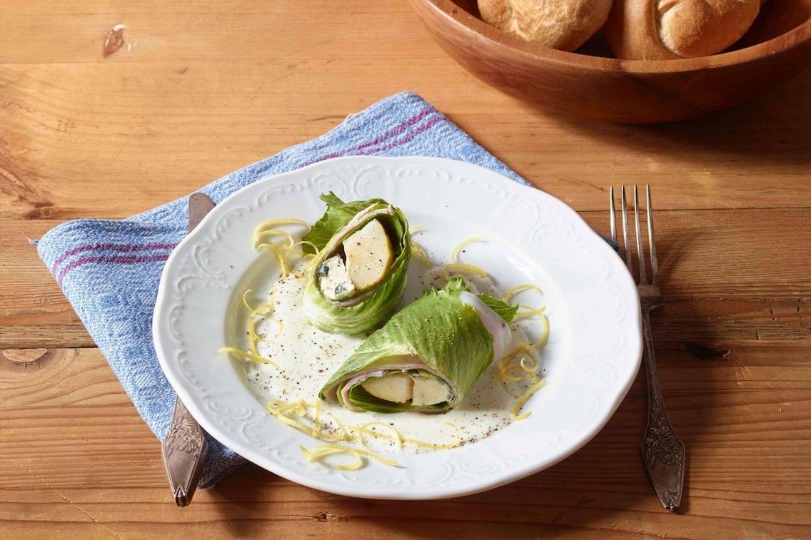 Salat, Käse, Zesten, Semmeln, Rollen, Vorspeise, Servus Rezept