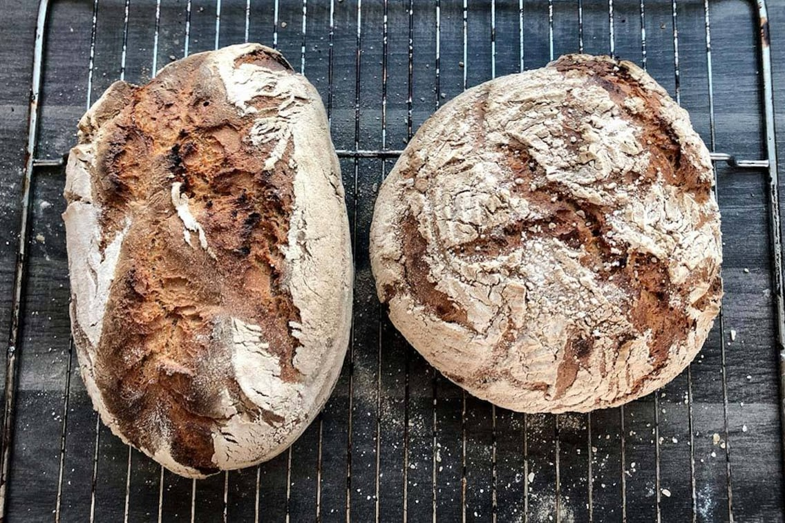 Rezept, Brot, Weizen-Roggenmischbrot