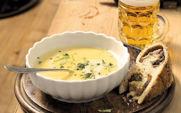 Gailtaler Kirchtagssuppe, Gailtal, Kirchtag, Suppe, Reindling, Bier, Servus Rezept